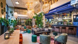 Inspiriert vom nahegelegenen Botanischen Garten: das neue Hotel Indigo Brüssel – City. (Foto: © InterContinental Hotels Group)