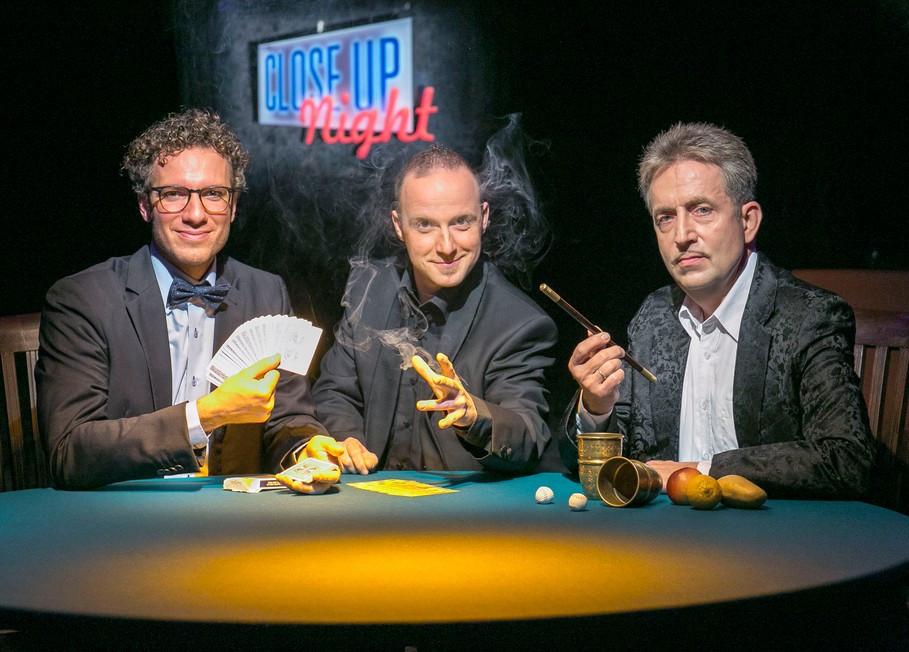 Foto zeigt v.l.n.r. Matthieu Anatrella, Torsten Pahl und André Kursch  Bildquelle: Steffen Füssel