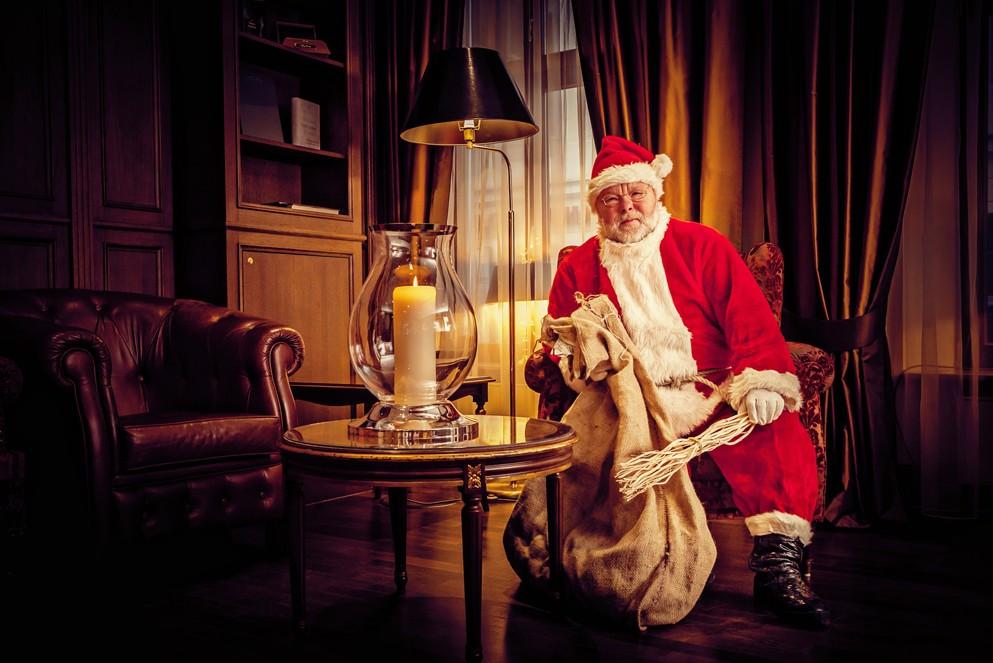 Der Weihnachtsmann im Bülow Palais – Foto: Lars Neumann