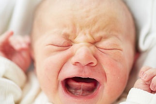 Baby Crying with Tongue Tie