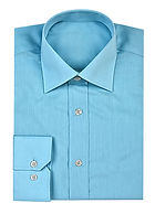 Turquoise button-up shirt