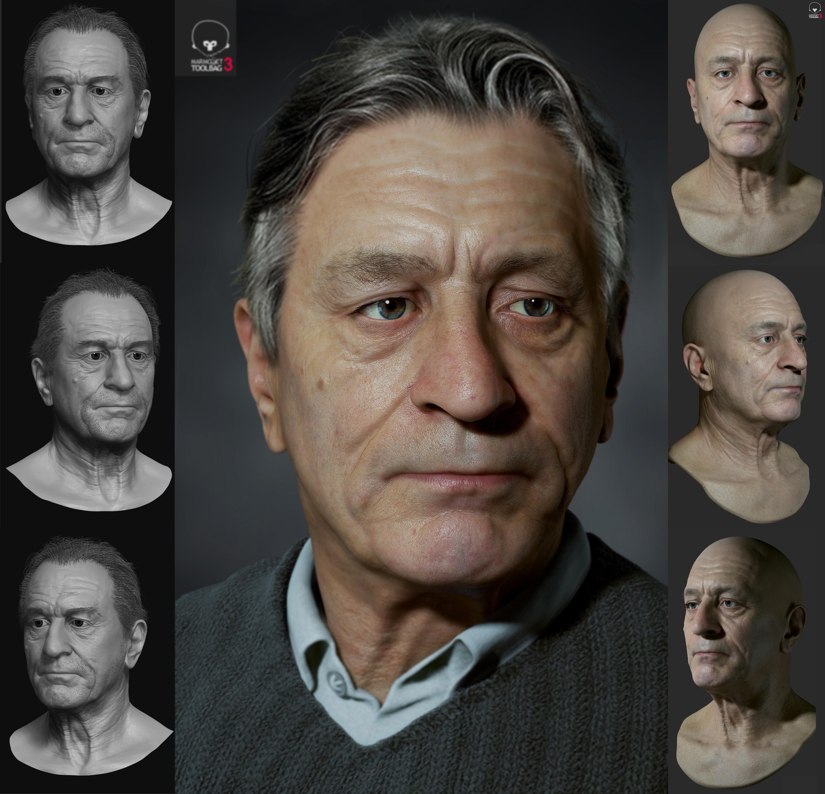 Deniro Portrait
