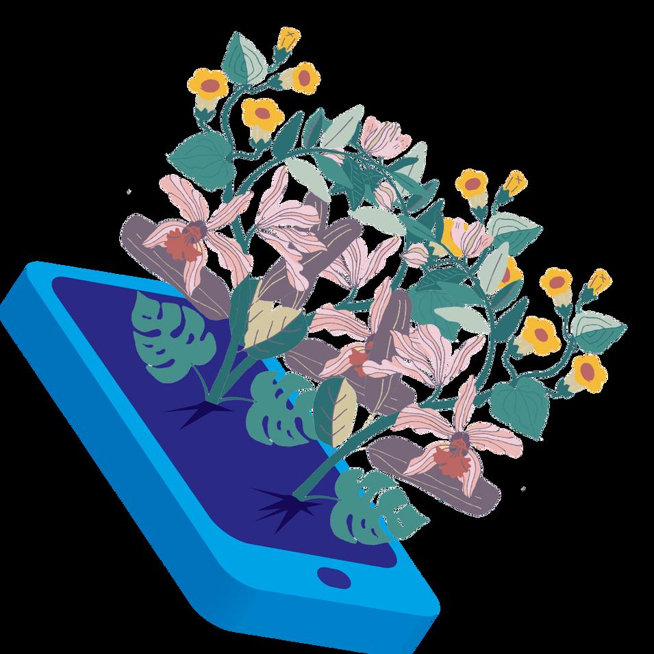 Phone Garden