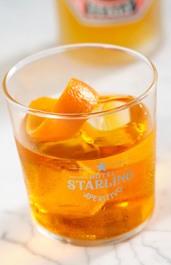 STARLINO ARANCIONE  ON THE ROCKS