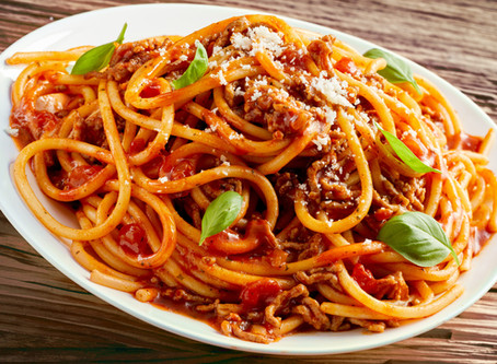 Calling All Pasta Lovers: Eyes Here! — FEATURING NATO'S MOUTHWATERING SPAGHETTI