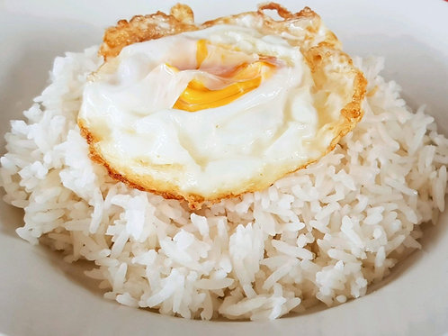 Rice w Egg Toppings