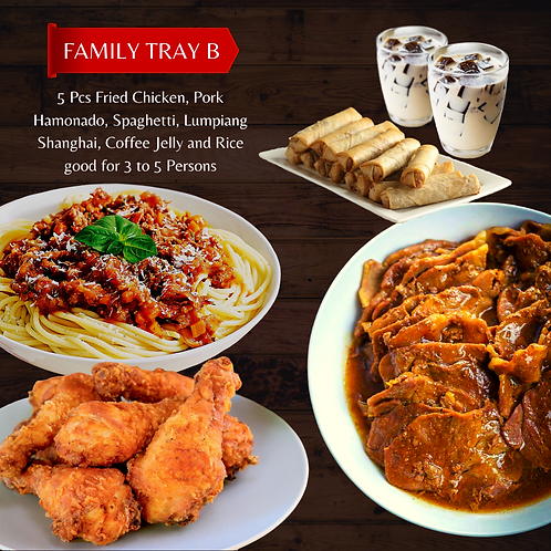 Family Platter  B (3 to 5 Persons)