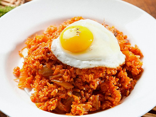 Java Rice w Egg Toppings