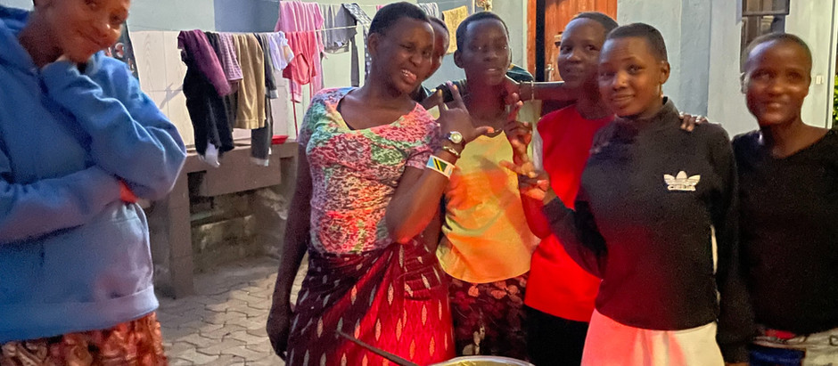 Cooking with Masai Girls/Why I Teach Teens to Cook