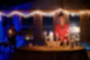 Christmas Eve Pastor Candle creche horiz