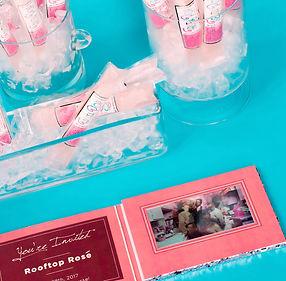 ice pop video invitation