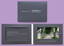 Video brochure for real estate, this example is for Sotheby's International Realty. Great for marketing luxury homes through brokers