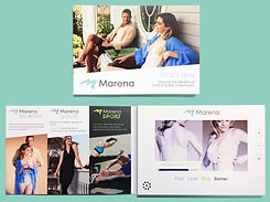 Video brochure used by a medical company Marena to help educate doctors and patients
