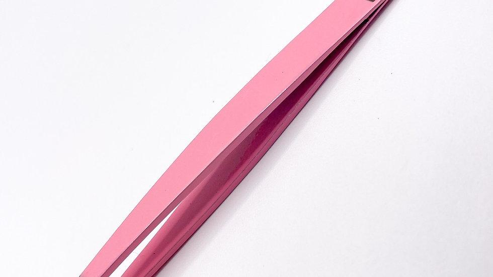 Pink Eyebrow Tweezers