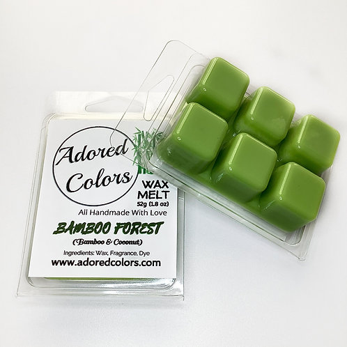 Bamboo Forest Scented Coconut Wax Melt