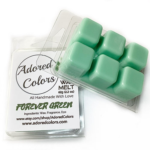 Forever Green Scented Coconut Wax Melt
