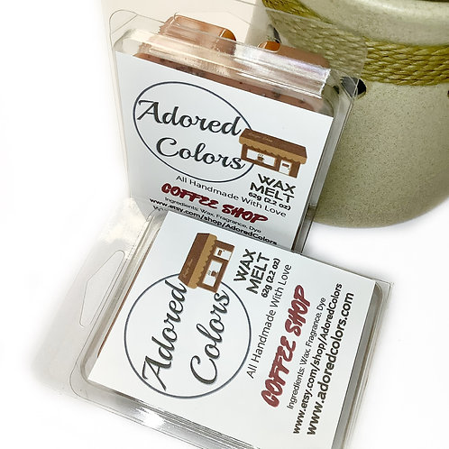 Coffee Shop Scented Coconut Wax Melt