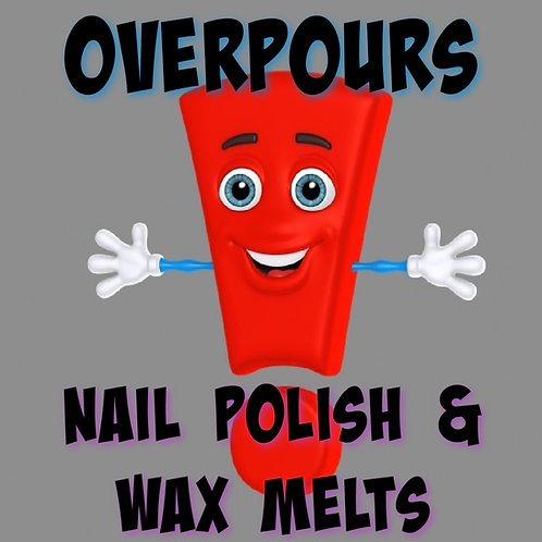 Overpours - Nail Polish and Wax Melts