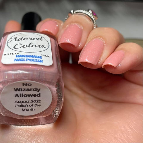 No Wizardy Allowed (August 2021 Polish of the Month)