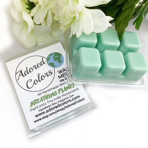 Breathing Planet Scented Coconut Wax Melt