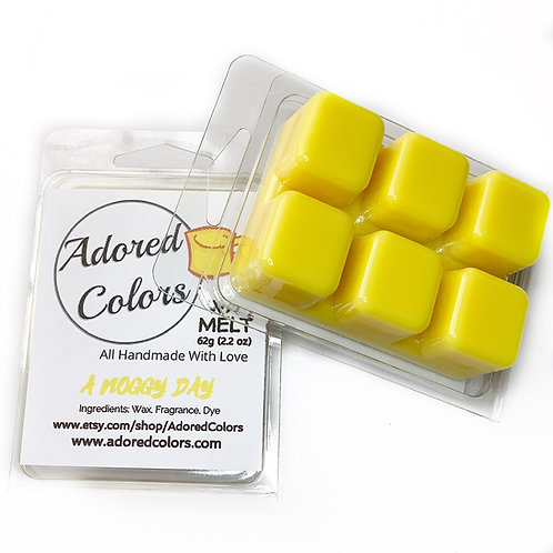 A Noggy Day Scented Coconut Wax Melt