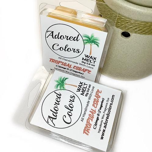 Tropical Escape Scented Coconut Wax Melt