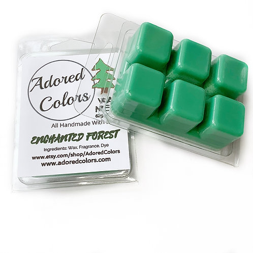 Enchanted Forest Scented Coconut Wax Melt