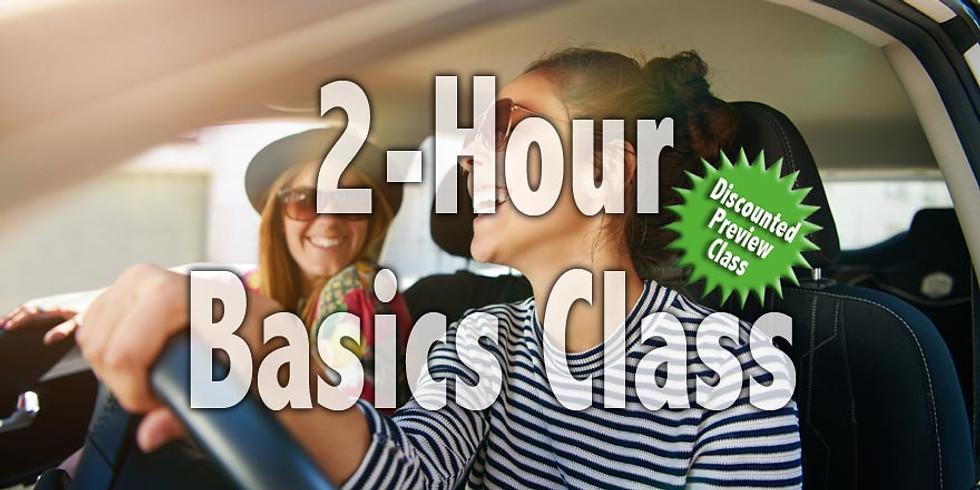 Basics Class | 7-9 pm | 5/1/19