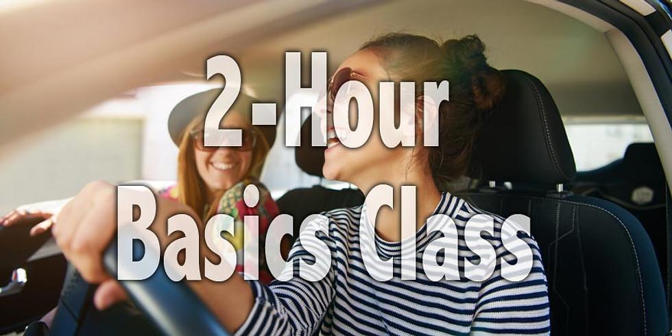 Basics Class | 10am-12pm | 5/27/19 - Memorial Day