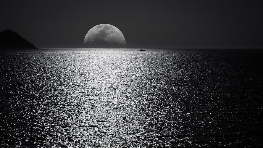 white-and-black-moon-with-black-skies-an