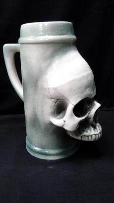 Кружка-череп