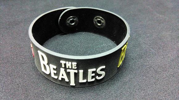 Браслет резиновый the Beatles