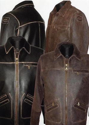 Куртка из кожи Wrangler 24