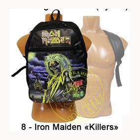 """рюкзак = Iron Maiden """" Killers """""""
