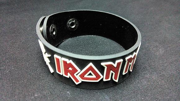 Браслет резиновый Iron Maiden