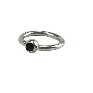 Кольцо со стразом 1,2х10х3 мм
