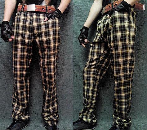 """брюки в клетку """"шотландка"""""""