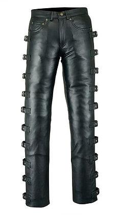 Мужские кожаные брюки M 8040