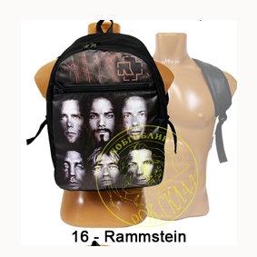 рюкзак = Rammstein
