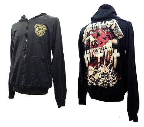 зиппер Metallica 2