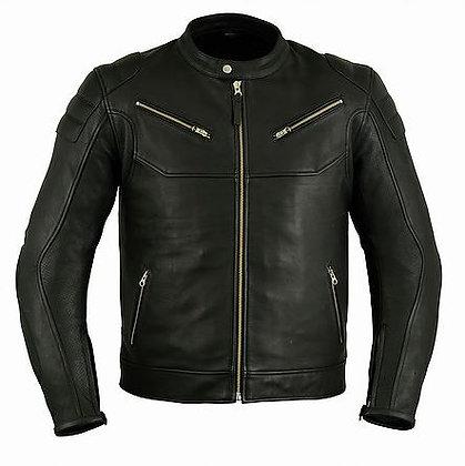 """мужская кожаная мото куртка """"HERITAGE"""""""