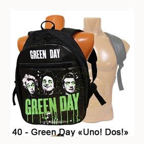 рюкзак = Green Day ( Uno! Dos!)