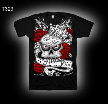 футболка Addiction-size XL