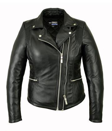 Женская кожаная куртка  L 119