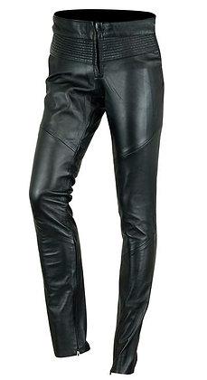 Женские кожаные брюки L 502