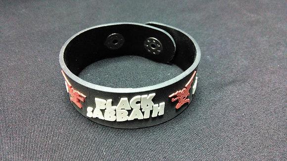Браслет резиновый Black Sabbath