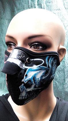 Маска-пыльник синий монстр