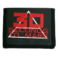Кошелек с вышивкой 30 Second to Mars