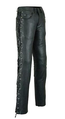 Мужские кожаные брюки M 8030 CM