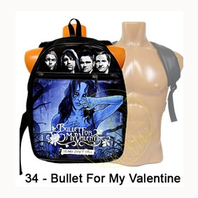 рюкзак = Bullet for my Valentine